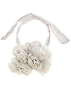 Kapow Wow! Tulle Floral Neck Piece