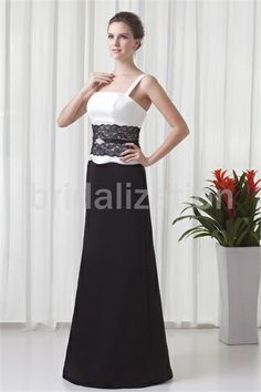 White/Black Plus Sizes Spring Sleeveless Mother of the Bride Dresses