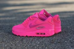 Nike air max 90 Women 064.red shoes, for, it is red, put on it, wonderful feeling!