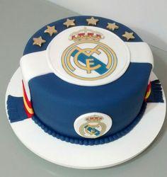Bolo Real Madrid #realmadridcake #soccercake #bolofutebol #halamadridcake #cakedesigners #cakebyRitaFreitas