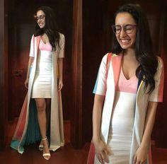 Shraddha Kapoor for #VogueEyeWear #ShowYourVogue