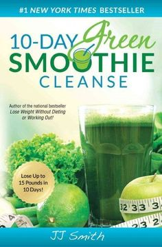 Recommends a ten-day cleansing diet for health and weight loss based on drinking green smoothies made from leafy greens and fruit juices and offers recipes for smoothies and advice on maintaining impr