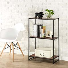 Deal of the Day: Zinus Modern Studio Collection 3-Shelf Multipurpose Bookcase