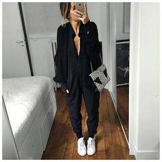 « La tenue et la combinaison en entier (prise en taille 36)! #latergram • Knit #junebrussels (from @junebrussels) • Overall #margauxlonnberg (from… »
