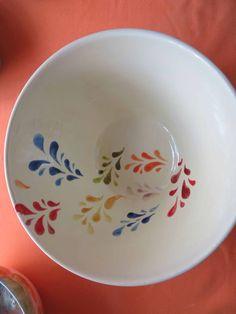W Fine Porcelain China Diane Japan Ceramic Clay, Ceramic Painting, Ceramic Plates, Porcelain Ceramics, Ceramic Pottery, Painting Art, Pottery Painting Designs, Pottery Designs, Cold Porcelain Ornaments