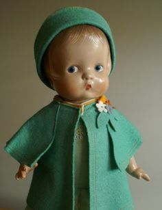 RARE 1946 re Issue by Effanbee of Beloved Patsy Doll 13 5""