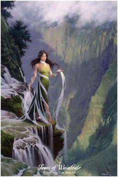 Waialeale, Goddess of the Mountain Rain - She gently shapes the towering heights of Kauai