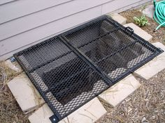 Egress window covers have best designs of treatments for windows that highly feature elegance of egress window covers for indoor and outdoor homes. Best Windows, Blinds For Windows, Egress Window Cover, Basement Window Treatments, Window Accessories, Budget Blinds, Window Well, Basement Windows, Home Landscaping