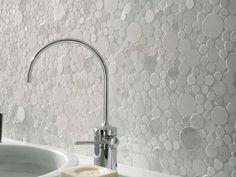 Bubble Gl Backsplash Tile Interior Awesomeness Pinterest Bath Room Inspiration And
