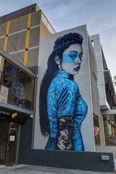 Fin DAC - Street Art - Brighton 2016