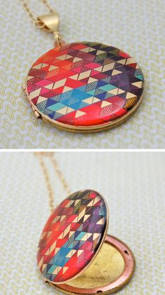 Hand painted locket