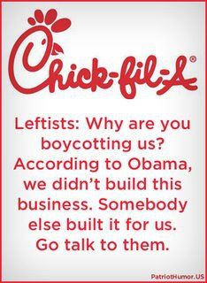 According to BO, nobody in our great country ever built a business.....