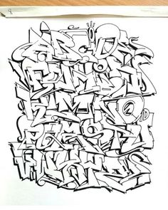 taking an edgy bold and path - a by Graffiti Art, Grafitti Letters, Graffiti Lettering Alphabet, Graffiti Alphabet Styles, Graffiti Piece, Graffiti Words, Graffiti Tagging, Graffiti Drawing, Graffiti Styles