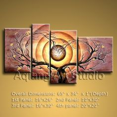 Astonish Great Artwork Contemporary Oil Painting Tree Blossom Landscape Wall Art $145.00 . More paintings available from eBay store http://stores.ebay.com/Oriental-Arts-And-Crafts/