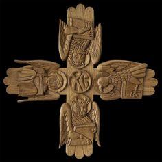The Four Evangelists - Aidan Hart Sacred Icons