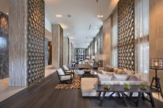 W Hotel & Residences in South Beach (Miami Beach, Florida)