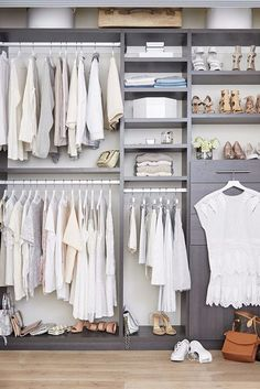 Your closet can be just as chic with products from Ikea.: