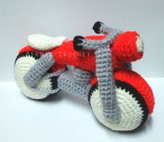 Toys and other Handicrafts Юлии Yarnykh. Crochet Toys, Free Crochet, Knit Crochet, Motorcycle Design, Handicraft, Cool Kids, Baby Shower Gifts, Free Pattern, Blog