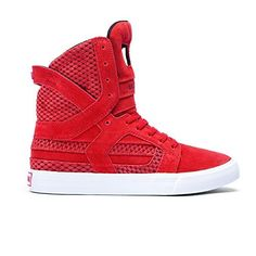 cb2afe7932c18 Supra SKYTOP II womens skateboarding-shoes 98008-637-M 10 - Cardinal Red