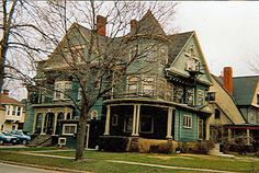 Tuxbury Mansion, 324 Goundry, Queen Anne style, c.1901.