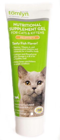 Tomlyn  Nutritional Supplement Gel (Felovite II®) Cats and Kittens 2.5 oz >>> Read more at the image link. (This is an Amazon affiliate link)