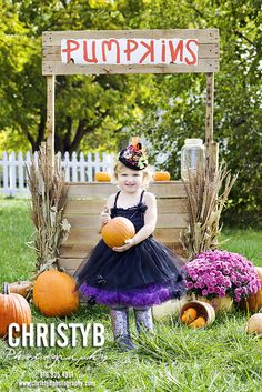 Children, girls portraits, photography, Halloween, mini session, pumpkin patch www.christyBphotography.com