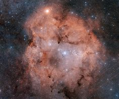 """IC 1396: Emission Nebula in Cepheus -- """"...while nearly 3,000 light-years from planet Earth."""" -- and like this, with all this beauty, my heart is won."""