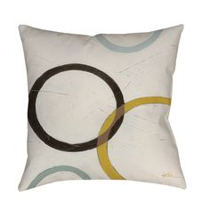Thumbprintz Tangle IV Floor Pillow  $14.99  overstock.com