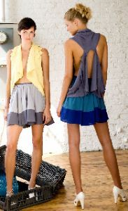100% bamboo hand-loomed sweaters by Lara Miller