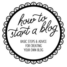 How to Start a Blog - A Teaspoon of Happiness