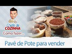 No vídeo de hoje você irá aprender como fazer pavê de pote para você que quer vender ou simplesmente degustar... Assista também: Bolo de Pote - https://www.y...
