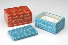 Keepsake Box: hand carved soapstone by artisans in western Kenya and incised line art patterns by artisans in Nairobi, these candles bring vibrancy to any environment.  Gift, holiday gift, candle, perfect, family gift, decoration, christmas, hanukkah, hand poured, women artisans, prosperity candle
