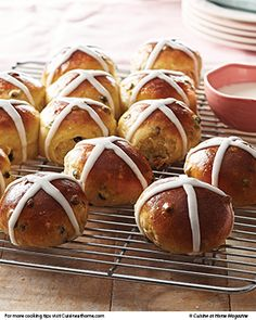 Fire up the oven for homemade Hot Cross Buns, then celebrate St. Patty's with a super simple Irish Soda Bread.