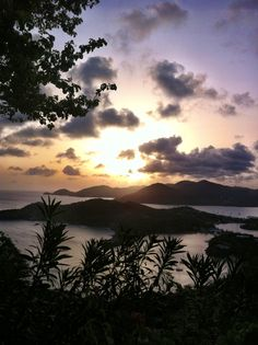 Sherley Heights, Antigua #Sunset #vacation #travel #beautiful
