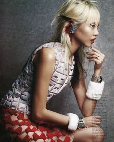 "Duchess Dior: ""Art Imitates Life"" Soo Joo Park by Victor Demarchelier for Vogue Japan April 2014"