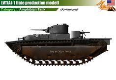 LVT(A)-1 Amtank (late production model)