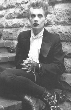 Where can I find such a perfect goth boy