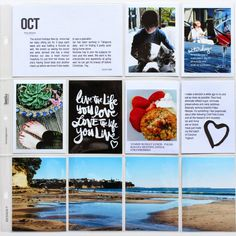 inspiration storyboard: Project Life | Oct 1