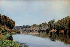 https://flic.kr/p/HsZp5C | IMG_8811 Alfred Sisley. 1839_1899.   La Seine à Bougival. The Seine at Bougival. 1873. Paris Orsay. | Alfred Sisley. 1839_1899.   La Seine à Bougival. The Seine at Bougival. 1873. Paris Orsay.