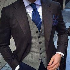 suit and vest http://www.99wtf.net/men/mens-fasion/latest-mens-casual-trouser-trend-2016/