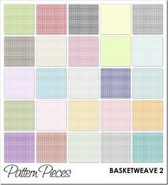 Pattern Pieces :: BASKETWEAVE 2