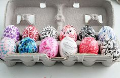 next year... we WILL color eggs