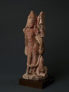Red sandstone. India, Madhyapradesh or Rajasthan, approx. 11th to 12th cent…
