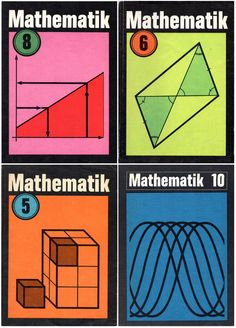 East German math books