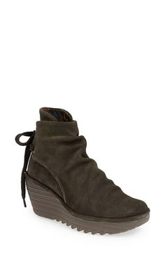 Fly London bootie - these are my new obsession!  Just got them yesterday and never taking them off!  Super comfortable and looks soooo cute with skinny jeans, leggings, whatever!!!  LOVE!
