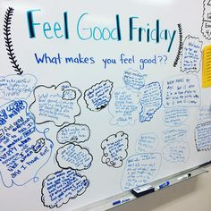 """""""Last minute board produced some super sweet and thoughtful responses. #miss5thswhiteboard #iteachfifth #teachersfollowteachers"""""""