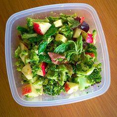 ❤️ Broccoli lunchsalade