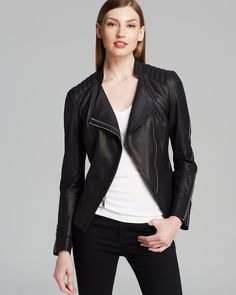 DL2 by Dawn Levy Jacket - Quin Leather | Bloomingdale's