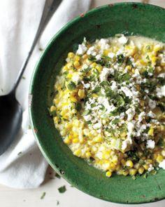 Mexican Creamed Corn + recipe #summerrecipe #corn #mexican