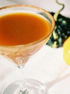 The Pumpkin Pie Martini